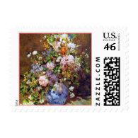 Renoir Spring Flowers Postage