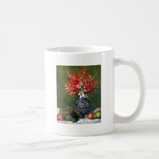 Renoir still life Flowers and Fruit art painting Classic White Coffee Mug