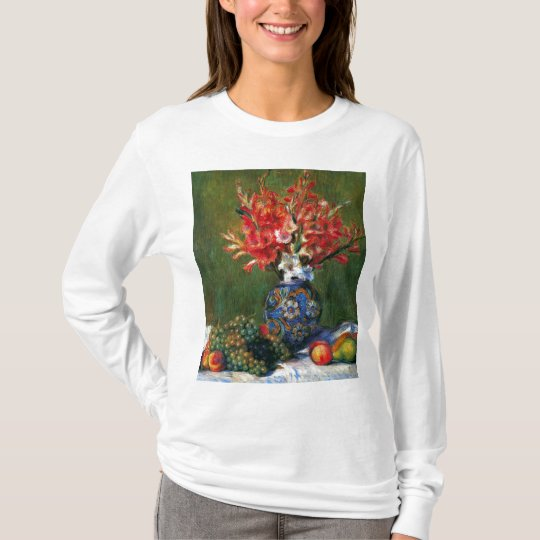 Renoir still life Flowers and Fruit art painting T-Shirt