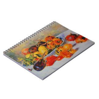 Renoir Still Life Fruit Notebook