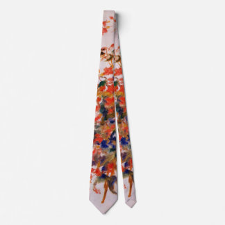 Renoir - Still Life with Fuscias Neck Tie