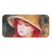 Renoir Straw Hat iPhone 5 Case