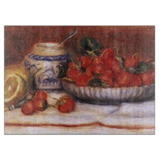 Renoir: Strawberries Cutting Board