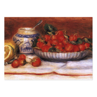 Renoir: Strawberries Large Business Card