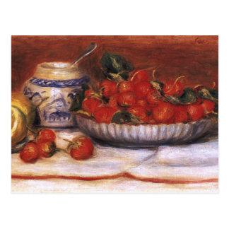 Renoir: Strawberries Postcard