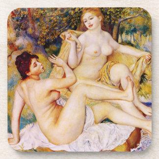 Renoir The Bathers Coasters