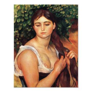 "Renoir The Braid Invitations 4.25"" X 5.5"" Invitation Card"