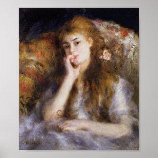 Renoir, The Thinker Poster
