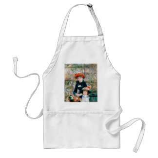 Renoir - The Two Sisters On The Terrace - 1881 Adult Apron