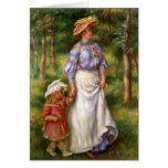 Renoir: The Walk Greeting Card