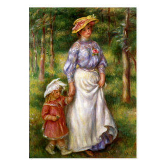 Renoir: The Walk Large Business Card
