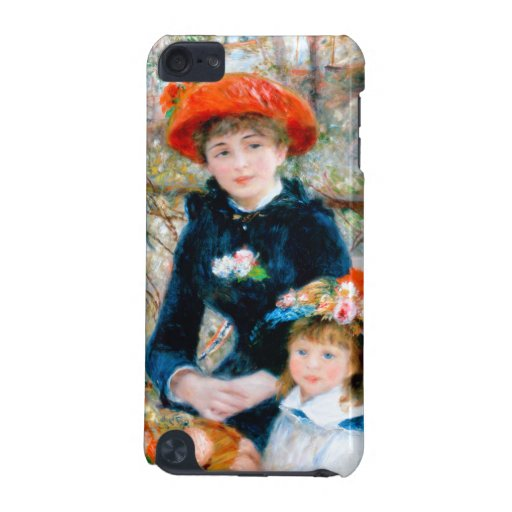 Renoir Two Sisters on Terrace iPod Touch 5G Cover