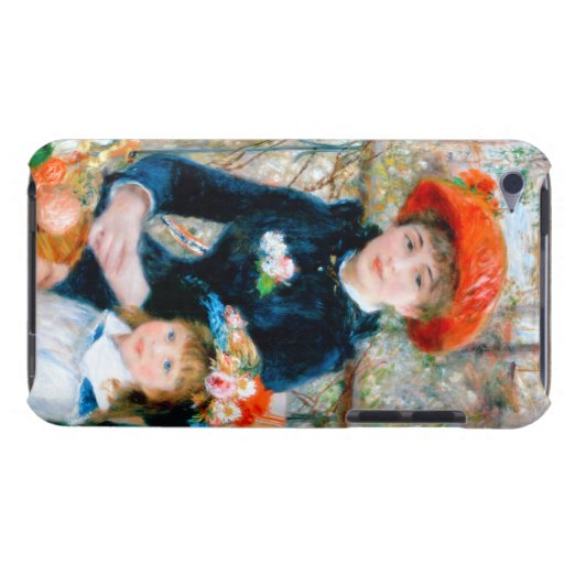 Renoir Two Sisters on Terrace iPod Case-Mate Case