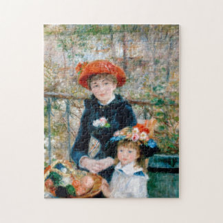 "Renoir ""Two Sisters (On the Terrace)"" Jigsaw Puzzle"