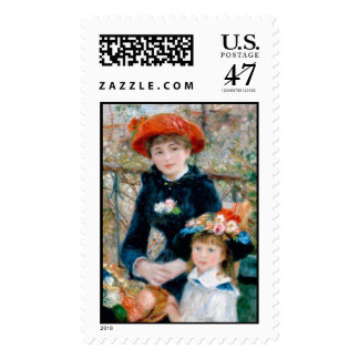"""Renoir """"Two Sisters (On the Terrace)"""" Postage"""