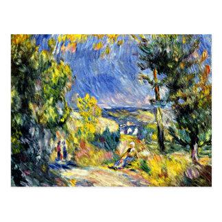 Renoir - View Close to Antibes Postcard