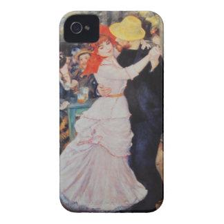 Renoir Vintage Art Dance at Bougival iPhone 4 Case