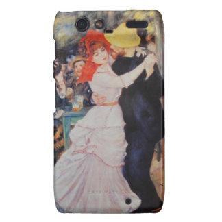 Renoir Vintage Art Dance at Bougival Droid RAZR Cover
