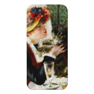 Renoir Woman And Small Dog iPhone 5 Case