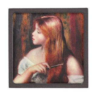 Renoir Young Girl Combing Her Hair Gift Box