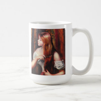 Renoir Young Girl Combing Her Hair Mug