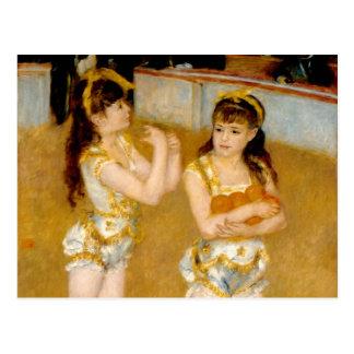 Renoir's Acrobats at the Cirque Fernando (1879) Postcard