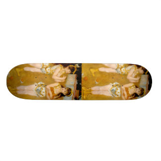 Renoir's Acrobats at the Cirque Fernando (1879) Skateboard Decks