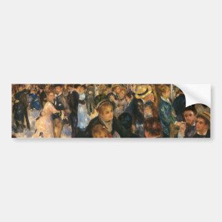 Renoir's Bal du   de la Galette (1876) Bumper Sticker