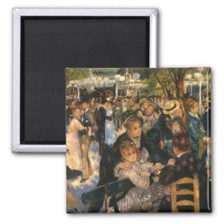 Renoir's Bal du   de la Galette (1876) Magnet