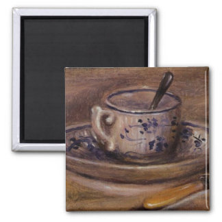 Renoir's Cup and Saucer Still Life Fridge Magnets