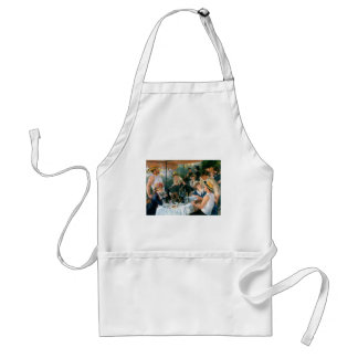 Renoir's Luncheon of the Boating Party (1881) Adult Apron