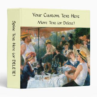 Renoir's Luncheon of the Boating Party (1881) Vinyl Binders