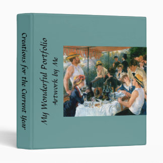 Renoir's Luncheon of the Boating Party (1881) Binders