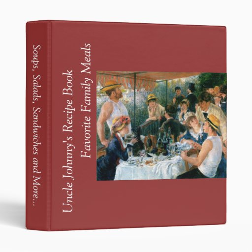 Renoir's Luncheon of the Boating Party (1881) Binder