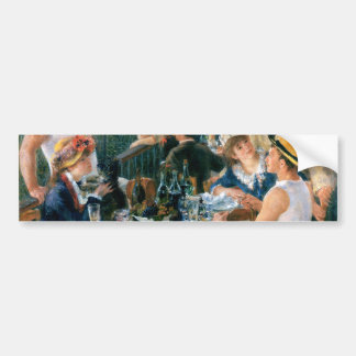 Renoir's Luncheon of the Boating Party (1881) Bumper Sticker