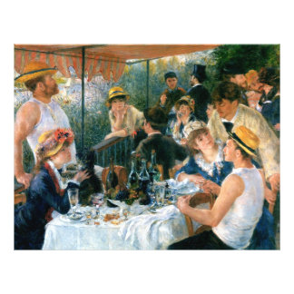 Renoir's Luncheon of the Boating Party (1881) Flyer