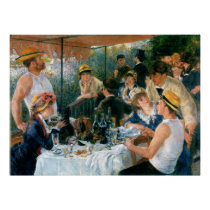 Renoir's Luncheon of the Boating Party (1881) Print