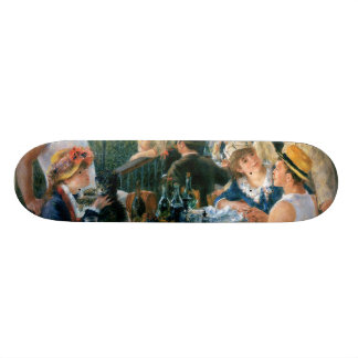 Renoir's Luncheon of the Boating Party (1881) Skate Board Deck