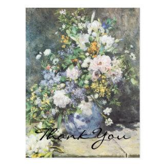 Renoir's Spring Bouquet Postcard