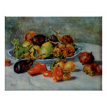 Renoir's Still Life with Mediterranean Fruit, 1911 Print