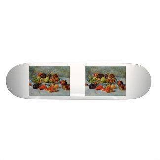 Renoir's Still Life with Mediterranean Fruit, 1911 Skate Board Deck