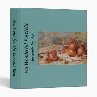 Renoir's Still Life with Onions (1881) Binder