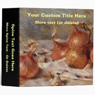 Renoir's Still Life with Onions (1881) Binder