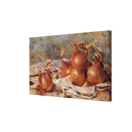 Renoir's Still Life with Onions (1881) Canvas Print