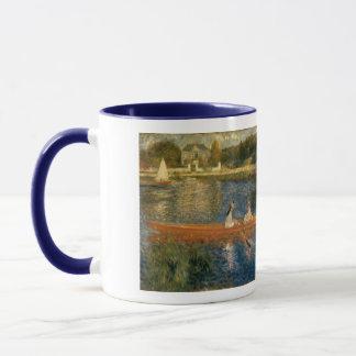 Renoir's The Seine at Asnières (The Skiff) ca 1879 Mug