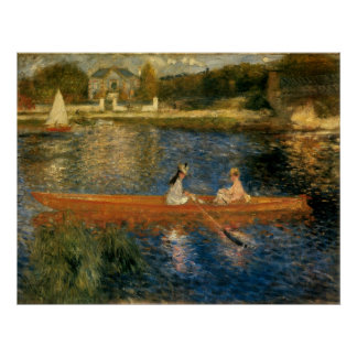 Renoir's The Seine at Asnières (The Skiff) ca 1879 Poster