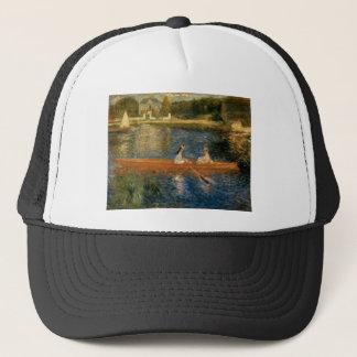 Renoir's The Seine at Asnières (The Skiff) ca 1879 Trucker Hat