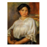 Renoir's Young Woman Seated Post Cards