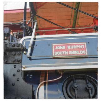 Renombre del motor de tracción del detalle de la c servilleta imprimida