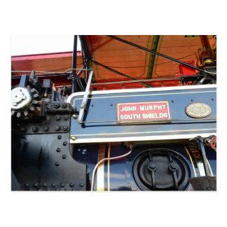 Renombre del motor de tracción del detalle de la postal